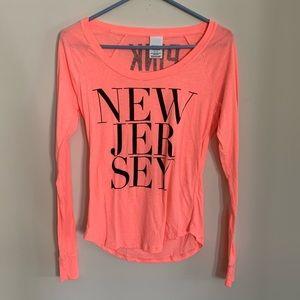 Victoria's Secret PINK New Jersey long Sleeve T